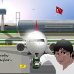 Uçak ve havalimanı tasarımım – Büşra Daylan Uluslararası Havalimanı