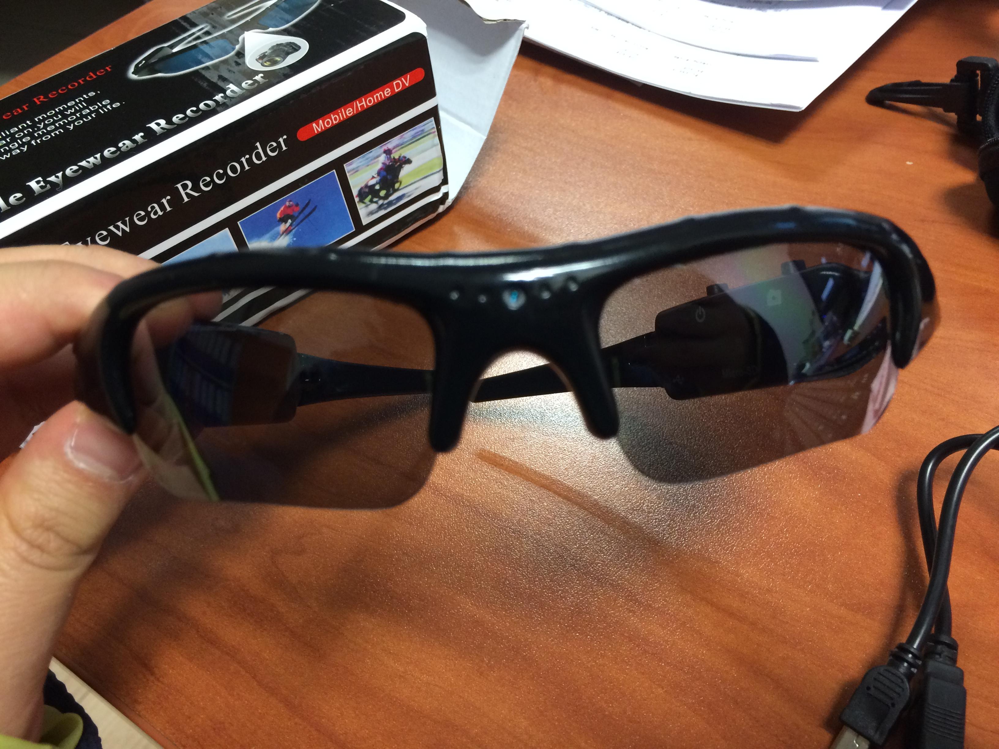 Kameralı güneş gözlüğü incelemesi
