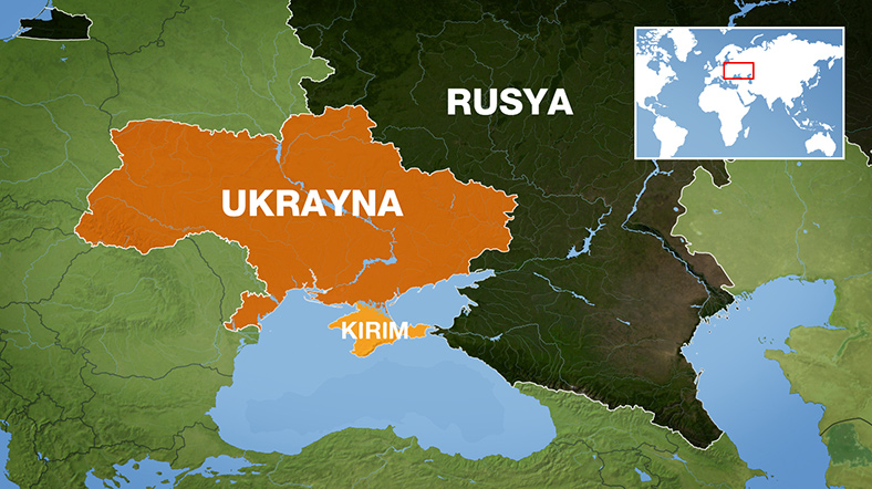 Ukrayna-Kirim-Harita