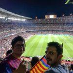 Camp Nou stadında Barcelona – Real Madrid maçını izledim
