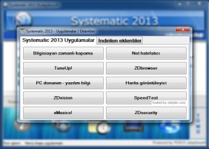 Systematic 2013 – zdaylansoft