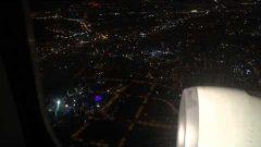 Delhi uçuşu için İstanbul Atatürk Havalimanı'ndan kalkış..