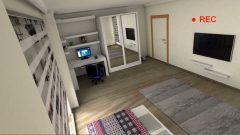 3D Oda animasyonu çalışması
