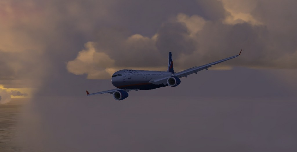 Flight Simulator Uçuşlarım – Bangkok inişi