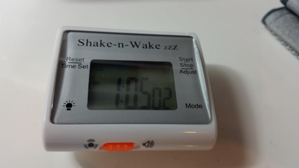 Shake-n-Wake zzz titreşimli alarm incelemesi