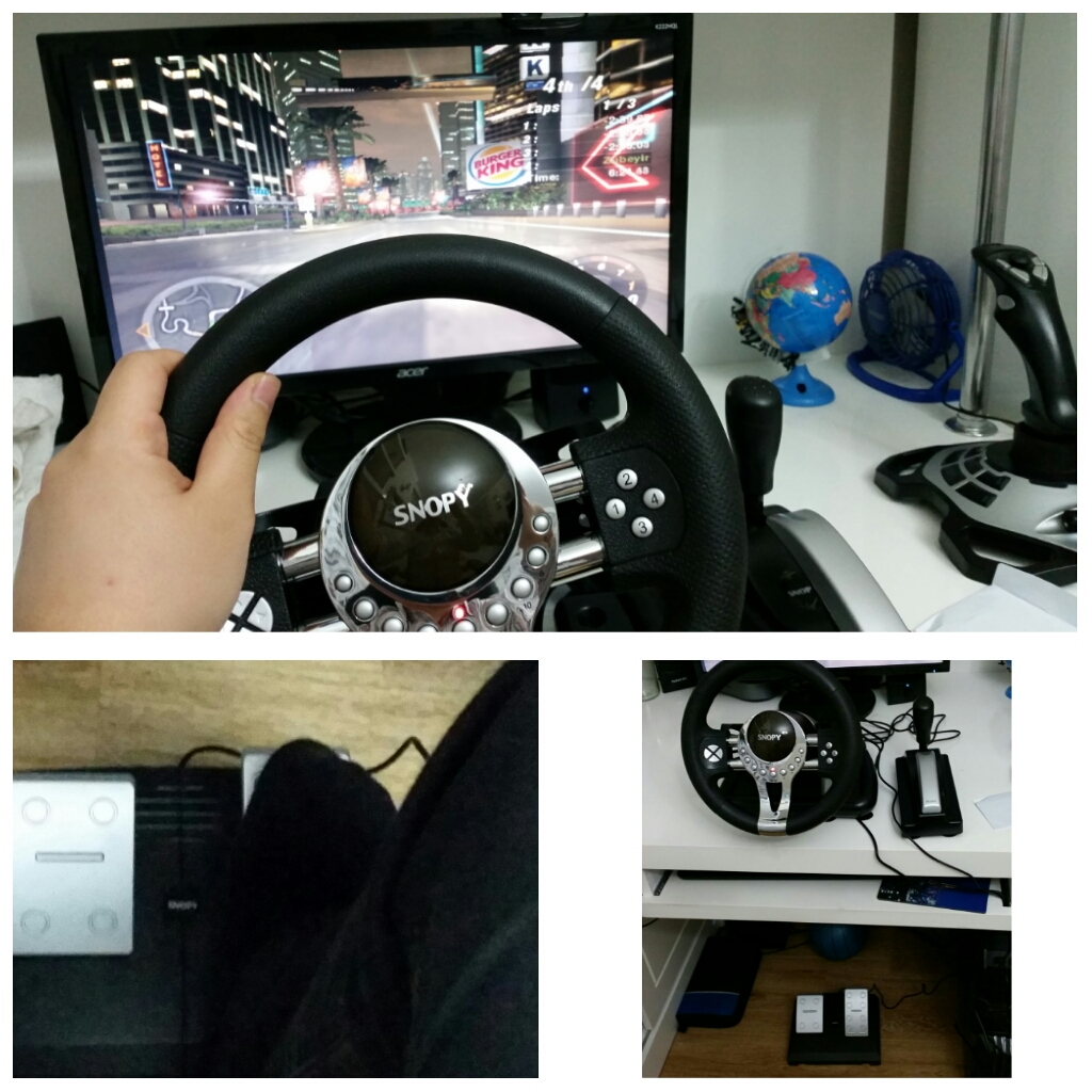 Snopy V5H USB Pro Direksiyon Gamepad incelemesi