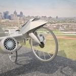 Uçan bisiklet hayali bana bunu tasarlattı