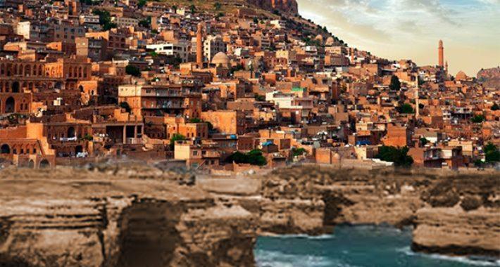 Mardin'e deniz getirdim :) Mardin için bir manipülasyon çalışması
