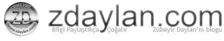 zdaylan.com | Zübeyir Daylan'ın blogu